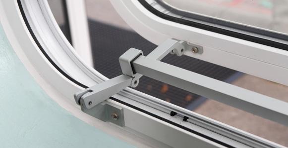 Shaped & Curved-on-Plan Aluminium Windows