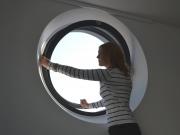 Circular Aluminium Pivot Window-01
