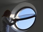 Circular Aluminium Pivot Window-02
