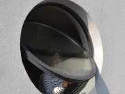 Circular Aluminium Pivot Window-05