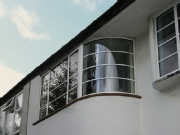 Aluminium window-curved-on-plan-02
