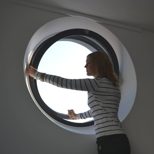 Round Aluminium Windows Made To Order Radial Windows